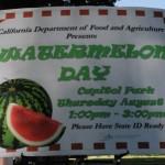Watermelon sign