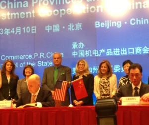 China signing ceremony 2013