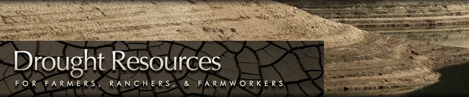 drought resources for farmers, branchers, and farmworkers