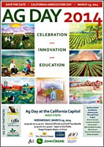 annual California Ag Day flyer