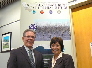 Adapting to climate change is a major priority for CDFA Secretary Karen Ross and California State Board of Food and Agriculture President Craig McNamara.