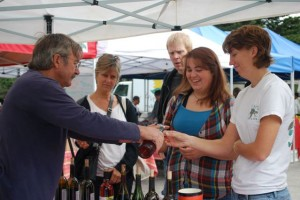Californians can start sipping wine at farmers markets