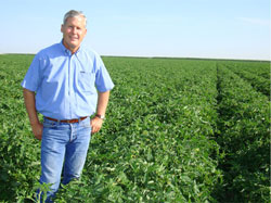 California State Board of Food and Agriculture member Don Cameron at Terranova Ranch in Fresno County.