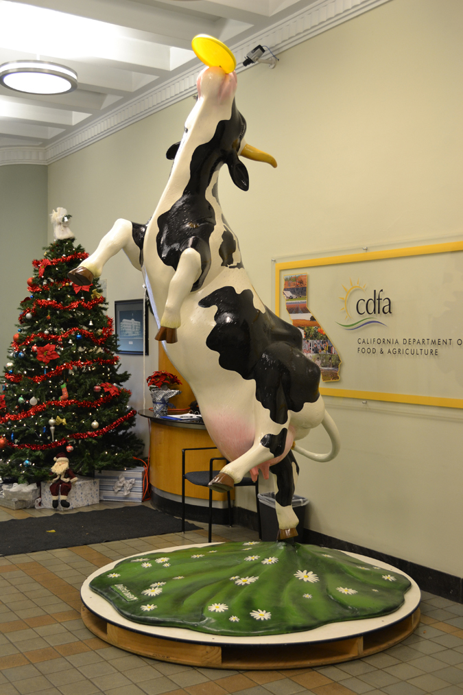 Cow Parade CDFA Lobby sm (2)