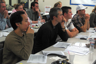 Participants in a recent CalAgX Training