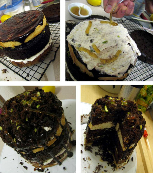 Soil Cake Photos
