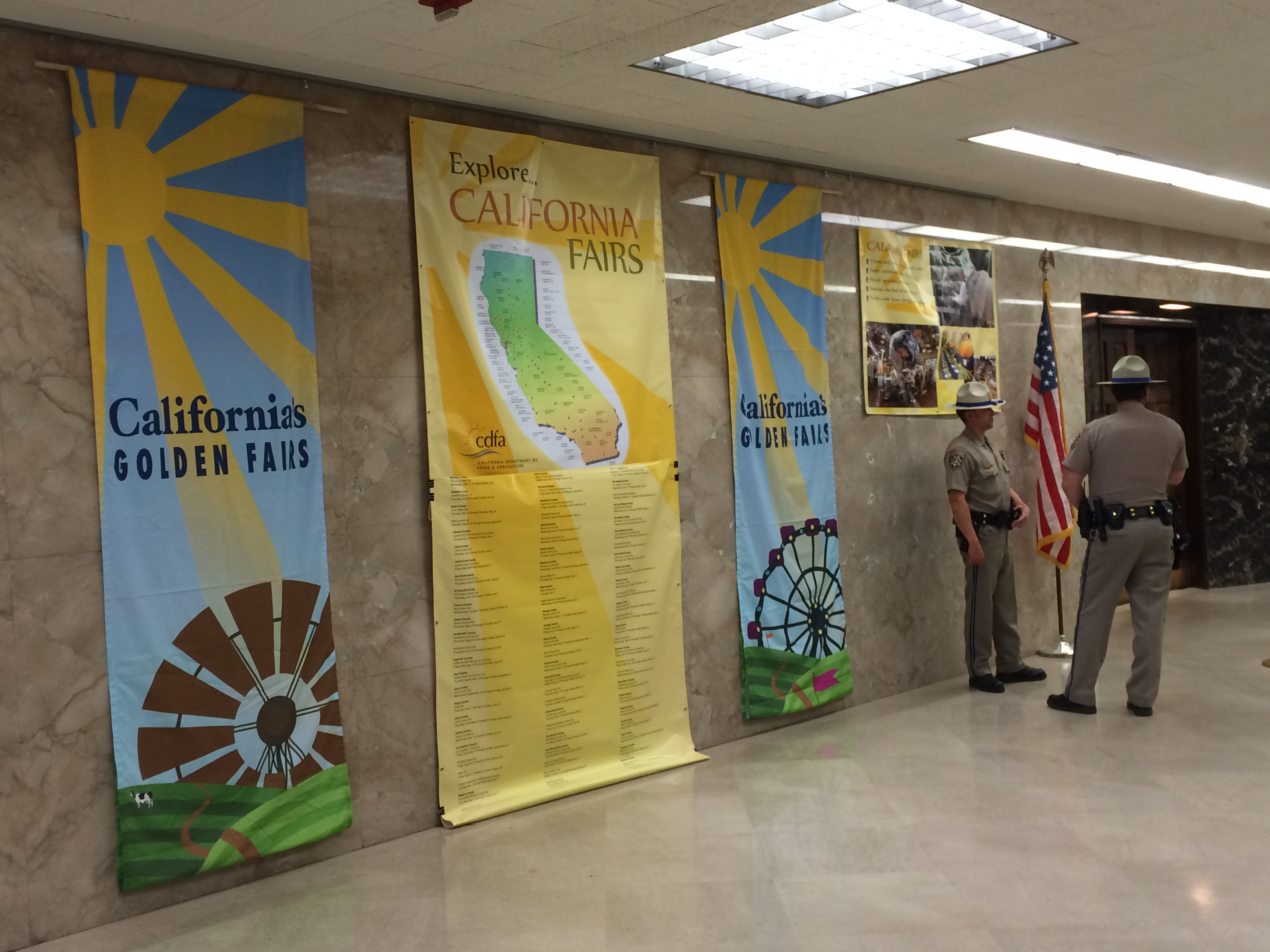 California fairs on display at State Capitol