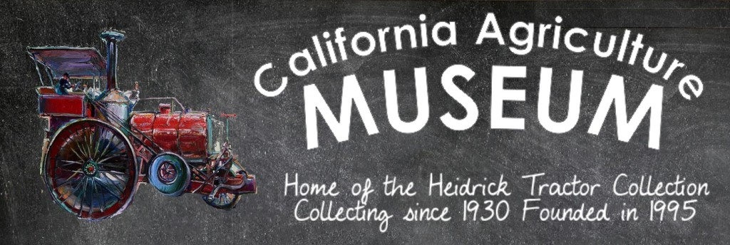 California Agriculture Museum Banner