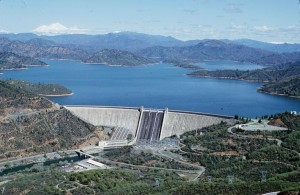 Shasta Lake, now at 110 percent of average.