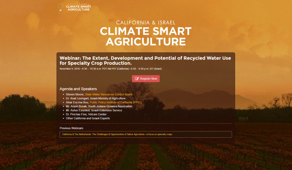 Climate Smart Agriculture Website