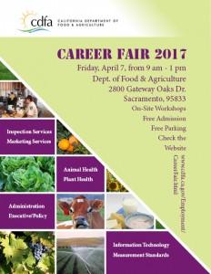 2017 Career Fair Flyer