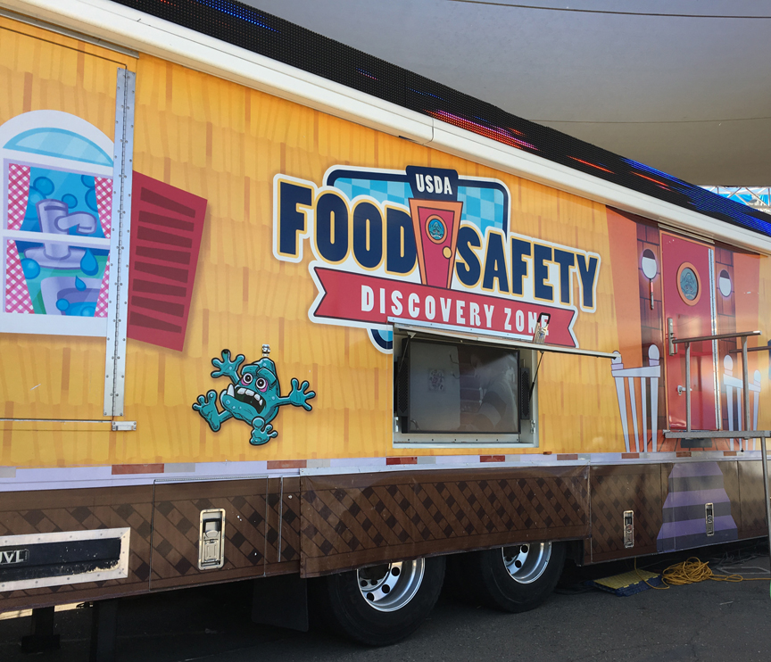 USDA Food Safety Discovery Zone