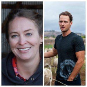 California farmers Megan Brown and Paul Grieve