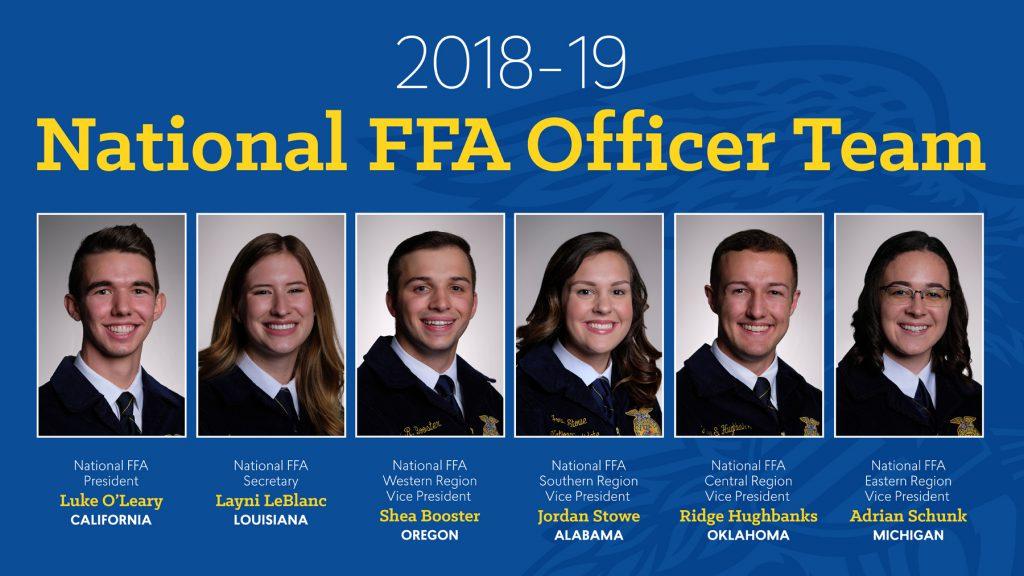 2018-19 National FFA Office Team