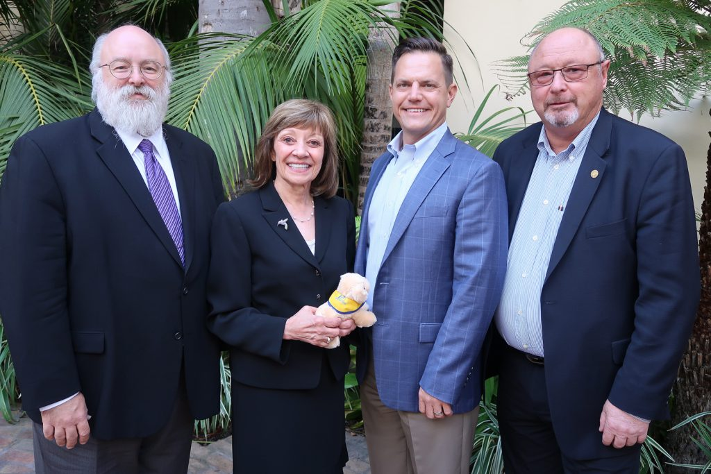 CDFA Secretary Karen Ross with representatives of the National Renderers Association.