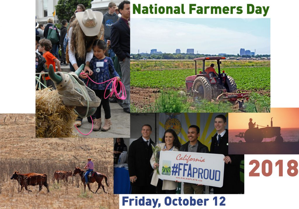 Photo montage: National Farmers Day 2018