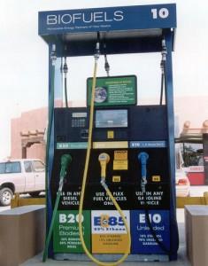 Biofuels pump