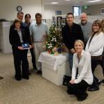 CDFA Audits Office holiday visit