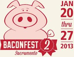 Sacramento Baconfest 2 Flier