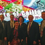 California agricultural delegates at the Taste of California event