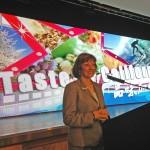 CDFA Secretary Karen Ross speaks at the Taste of California event