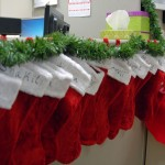 Stockings for every elf at the CDFA Audits Office