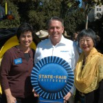 Assembly Ag Committee Chair Susan Eggman, California State Fair CEO Rick Pickering, and Assemblymember Mariko Yamada