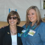Secretary Ross poses with an Ag Day guest