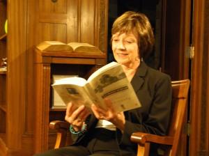 CDFA Secretary Karen Ross reading a favorite passage