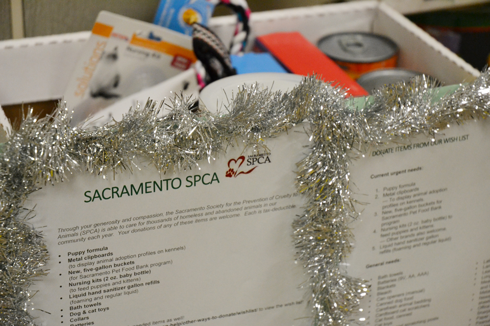 Organizations benefitting from CDFA employees' holiday charitable campaigns