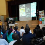 Parker Elementary students learn about hand-washing