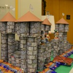 The castle the Food Drive built
