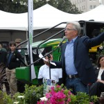 Craig McNamara voicing his appreciation of the Golden State's farmers and ranchers