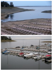 Then And Now: California's Drought Officially Declared To Be Over