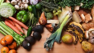 Rotting fruits and vegetables