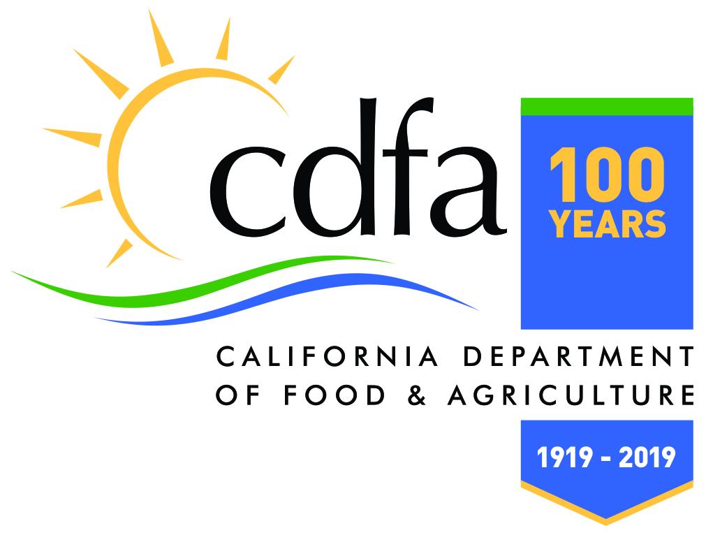 100 years CDFA logo