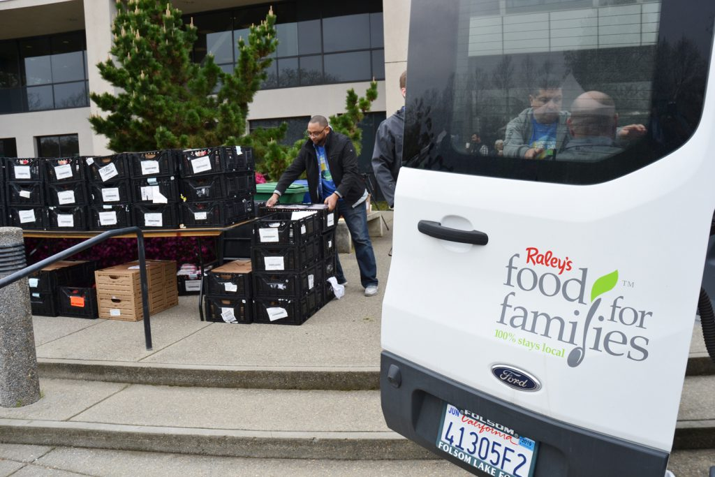 Raley's Food for Families program provided lunch for 1,000+ students