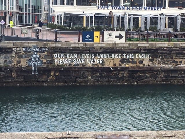 Water levels and a conservation reminder in Cape Town.