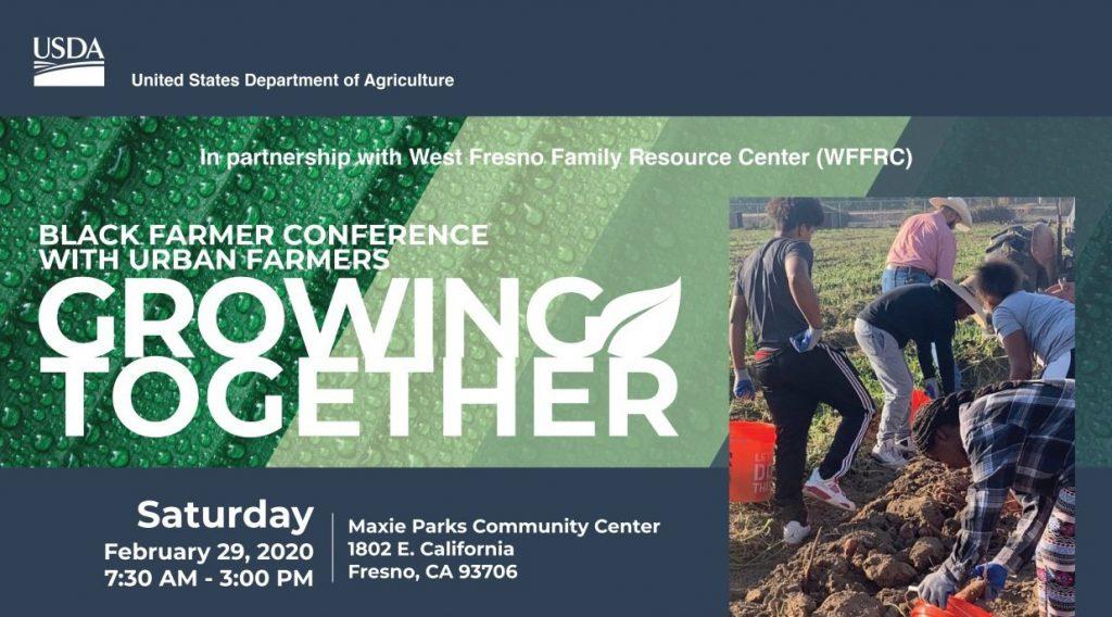 USDA Growing Together flier