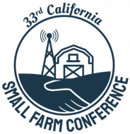 Logo for 33rd annual small farm conference